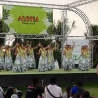 Living the island life: Dancers perform at last year's Hawaiian Festival, which is part of the summer Enoshima Festival in Kanagawa Prefecture.