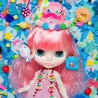What a doll: Super Dollfie and Blythe (above) will feature at the 'Doll Culture Exhibition' at Tokyo City View. | SUPER DOLLFIE ® IS THE REGISTERED TRADEMARK OF VOLKS INC. ALL RIGHTS ARE RESERVED; BLYTHE IS A TRADEMARK OF HASBRO. © 2014 HASBRO. ALL RIGHTS RESERVED
