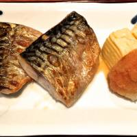 The lunchtime set meal of perfectly grilled mackerel is clearly a cut above.   ROBBIE SWINNERTON