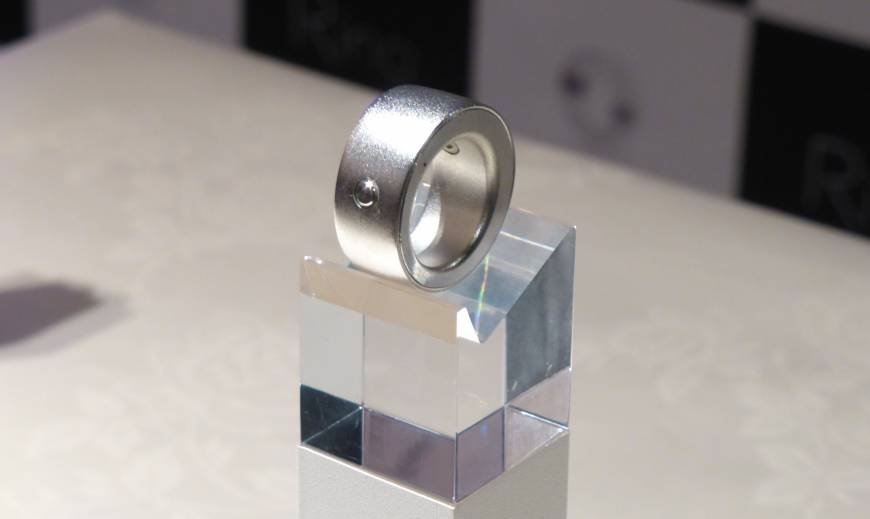 Ring allows users to control digital devices with a wag of the finger
