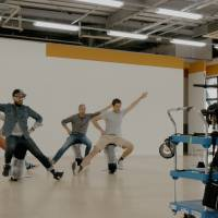 OK Go go through the dance moves during rehearsal days.  | COURTESY OF OK GO