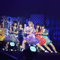 The Dempa life: Idol unit Dempagumi.inc performs at the Moshi Moshi Nippon event in Tokyo last month.