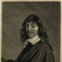 This portrait of Rene Descartes, after an engraving by Franz Hals, is dated to after 1650. | BRITISH MUSEUM