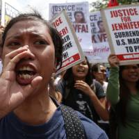 Philippines summons U.S. Marines in transgender murder case