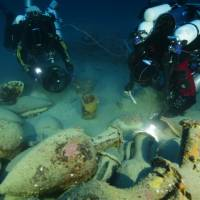 Ancient Roman shipwreck discovered in deep waters off coast of Sicily