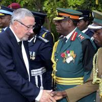 White Zambian named acting president after leader's death