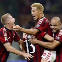 Honda plays starring role as Milan beats Chievo to end skid