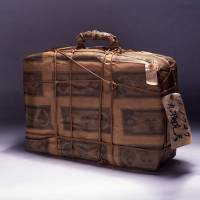 Genpei Akasegawa's 'Impounded Objects: Works Wrapped in Model ¥1,000 Notes III (Bag)' (1963) |  NAGOYA CITY ART MUSEUM