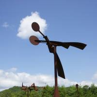 'Soaring' (2008) at the Susumu Shingu Wind Museum (Arimafuji Park, Sanda, Hyogo)  | SUSUMU SHINGU
