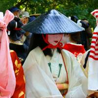 Jidai Matsuri: Sad-eyed lady at the festival of the ages