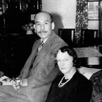 Then: Masataka Taketsuru and his wife, Rita. | KYODO