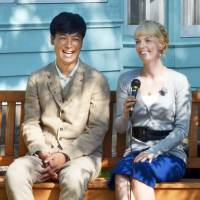 Blondes have more fun in NHK's morning drama