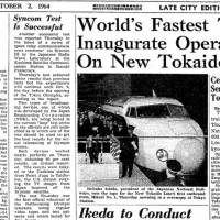 Mao Tse-tung seeks to quell internal friction; Shinkansen starts operations; Tokyo Olympics open; America's No. 1 threat?