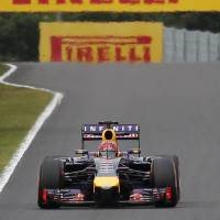 Switching gears: Four-time defending F1 champion Sebastian Vettel will leave Red Bull, the team he joined in 2009, at the end of the season.   AP