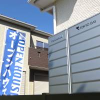 Synergy: An Ene-Farm unit from Panasonic and Tokyo Gas, installed outside a home in a new housing development in Inzai, Chiba Prefecture. | PHILIP BRASOR