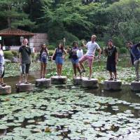 One step beyond: Dartmouth College students visit Kyoto during their annual 10-week Language Study Abroad program, which is affiliated with Kanda University of International Studies in Makuhari, Chiba Prefecture. | JAMES DORSEY