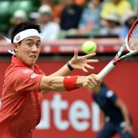 Nishikori beats Young to reach Japan Open quarterfinals