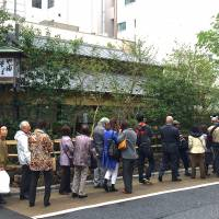 The wait to get into the original Yabu Soba was always significant. Expect even long ones now that it's reopened.  | ROBBIE SWINNERTON
