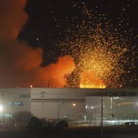 Takata Corp.'s air bag plant in Monclova, Mexico, is rocked by explosions on March 30, 2006, roughly a year after it became the company's main inflator production site. Defective air bags were assembled there in 2001 and 2002, and around 2012. | REUTERS