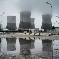 The nuclear plant of Saint Vulbas, central-eastern France, is seen in March 2013. France's state-run power firm EDF said Saturday that unidentified drones had flown over seven nuclear plants this month, leading it to file a complaint with the police. | AFP-JIJI