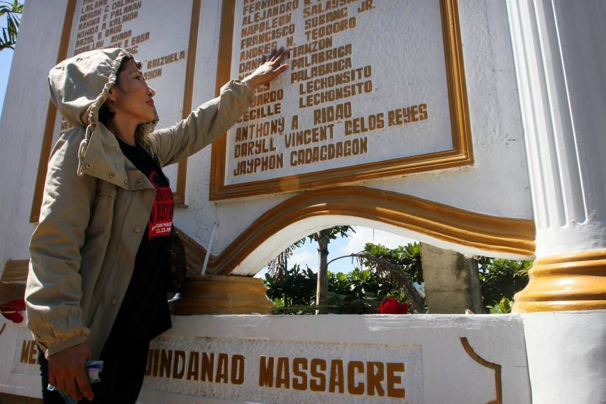 Old wounds still fester on anniversary of Philippines' worst massacre
