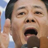 Kaieda says DPJ is aiming to block majority for Abe's LDP in election