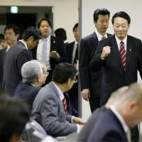 DPJ election platform seeks changes to 'Abenomics'
