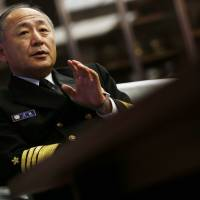 SDF admiral urges prompt action on crisis management pact with China
