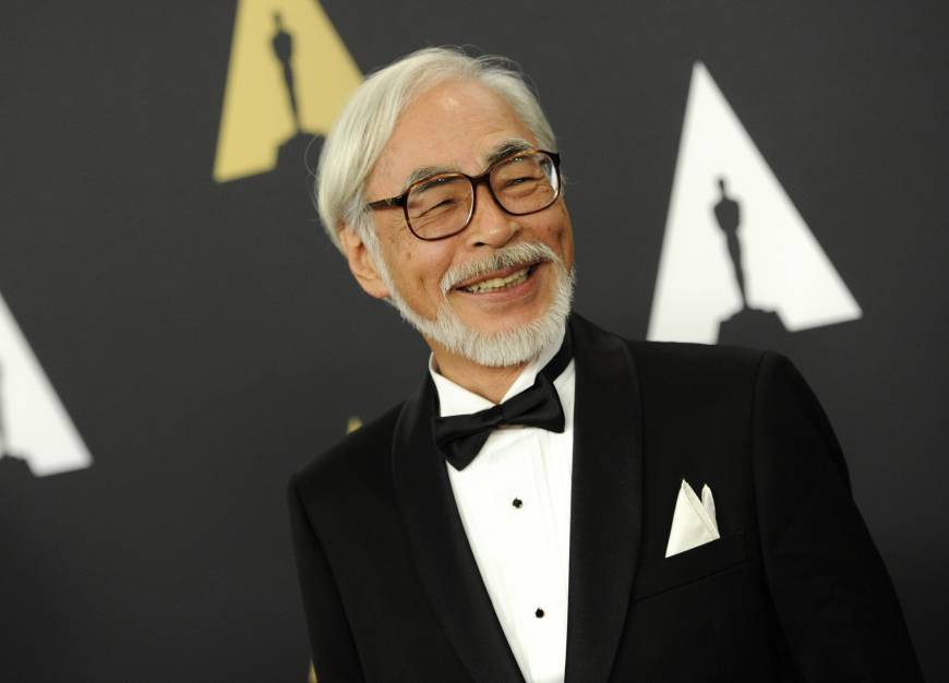 Miyazaki is second Japanese to receive honorary Oscar