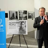 UNHCR Antonio Guterres is hoping the Japanese government will improve its refugee recognition process. | SATOKO KAWASAKI