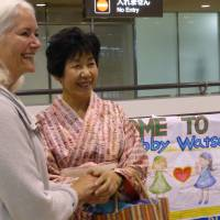 Girl Scouts who posed for Yokohama statue reunited 52 years later