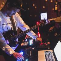 Enormous event: Japanese musician Albino Sound performs on Nov. 4 at the 6852: Stratovolcanic Vinyl event during Red Bull Music Academy Tokyo. | YUSAKU AOKI / RED BULL CONTENT POOL