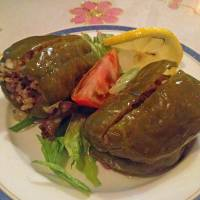 Popping peppers: The rice-filled peppers at Turkish restaurant Cappadocia are a must for diners. | ANANDA JACOBS