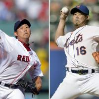 I'm coming home: Daisuke Matsuzaka pitched for the Boston Red Sox from 2007-2012 and the New York Mets from 2013-2014 during his eight seasons in the major leagues. | KYODO