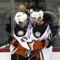Ducks defensemen get offensive in win