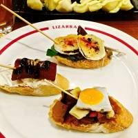 Lizarran: Spanish 'pinchos' means a new taste with every bite