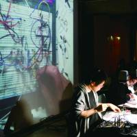 Breadboard Band performs at the Maker Faire-related DIY Music: Outrage event held in 2013.