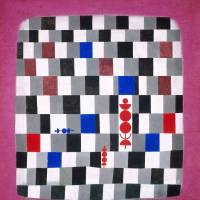 Paul Klee's 'Super-chess' (1937)  | ©2014 KUNSTHAUS ZURICH. ALL RIGHTS RESERVED