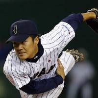 Next in line: Takahiro Norimoto figures to be one of the faces of the Samurai Japan team in the next WBC. | REUTERS