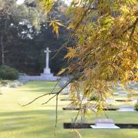Foreign servicemen find final resting place on Japanese soil