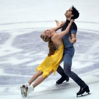 Weaver, Poje take ice dance title at NHK Trophy