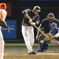 Japan grabs exhibition victory over MLB All-Stars in tour finale