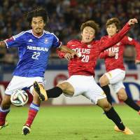 Reds beat Marinos to move to brink of J. League title