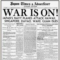 Outbreak of the Pacific War | Dec. 8, 1941