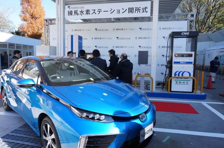 Tokyo Gas takes wraps off its first hydrogen filling station