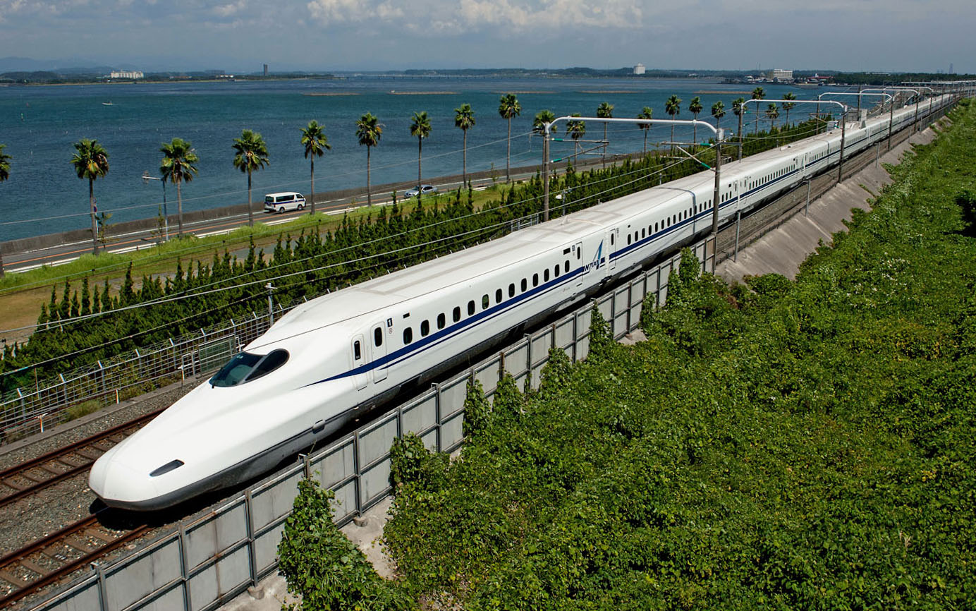 The top speed of the Nozomi bullet train will be raised to 285 kph next March from 270 kph on the Tokaido Shinkansen Line, thanks to new brakes, Central Japan Railway Co. said Friday. | JR TOKAI/KYODO