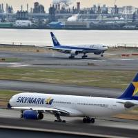 Skymark plans to request support from ANA