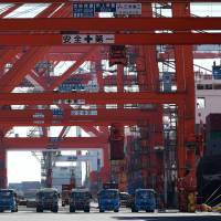 Imports declined in November on plunging crude oil prices