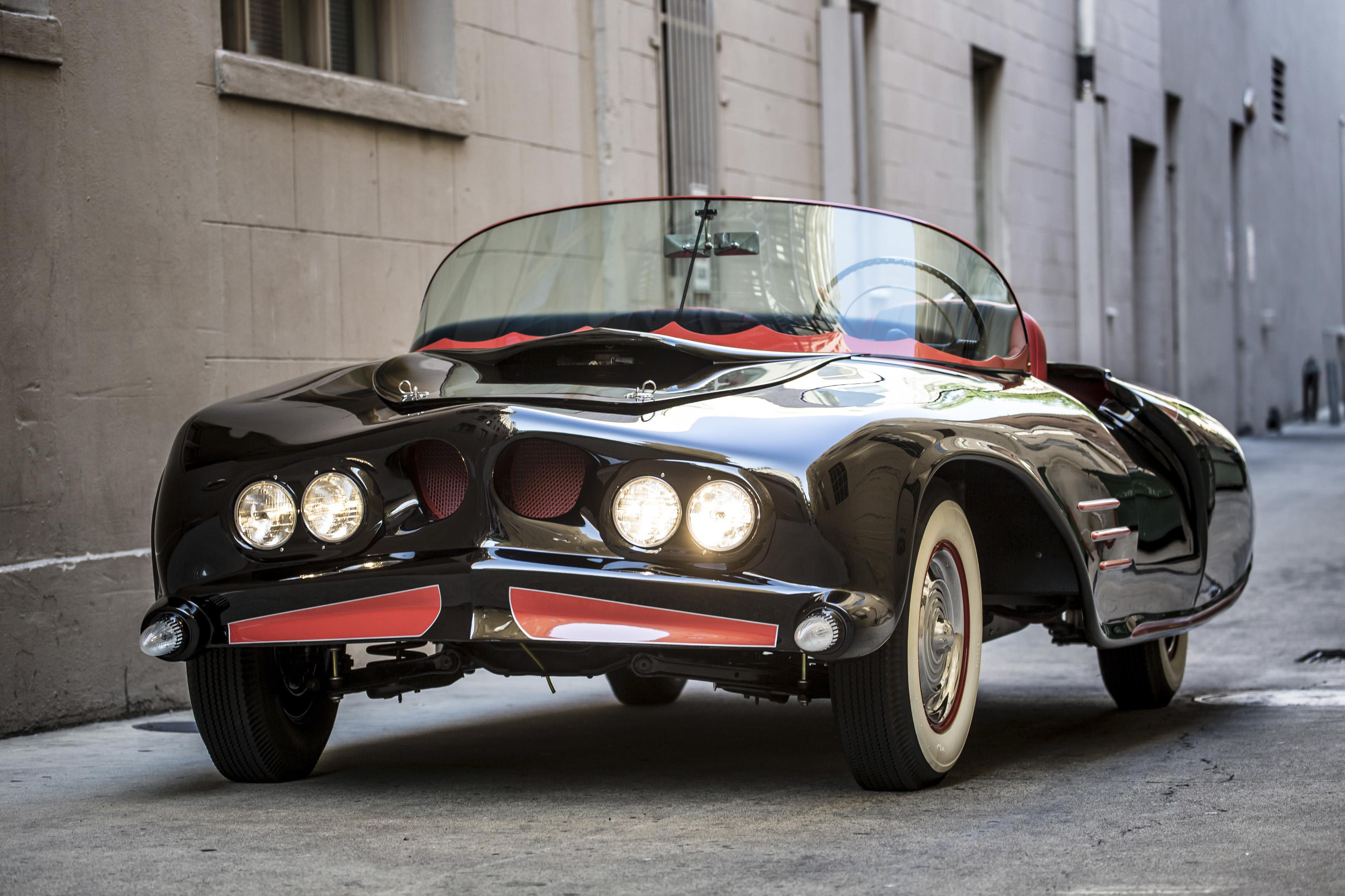 The 1963 car is the earliest known licensed copy of Batman's famed vehicle. | REUTERS
