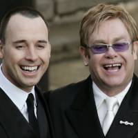 British singer Elton John marries partner after 21 years together
